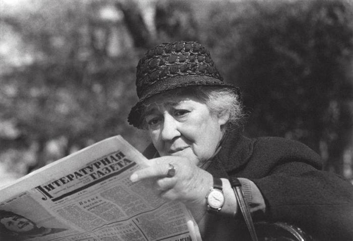 Одна из величайших русских актрис XX века. СССР, 1968 год. Автор фотографии: Владимир Богданов.