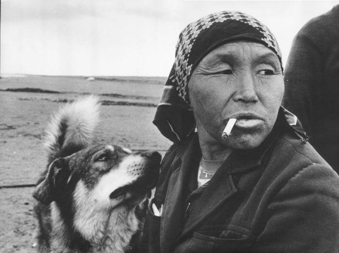 Коренная жительница Алтая, 1979 год. Автор фотографии: Александр Гращенков.