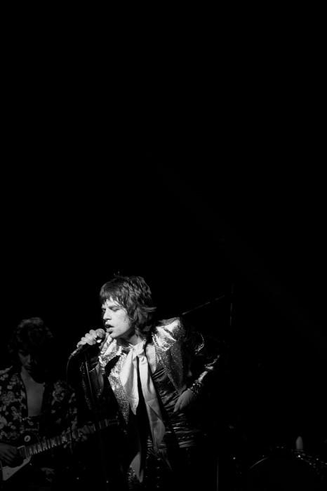 The Rolling Stones, 1972 год. Автор фотографии: Джеймс Фортуна.