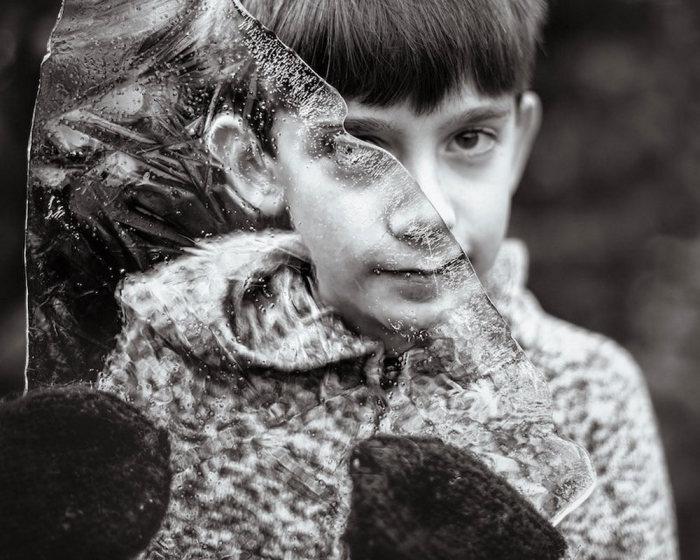 Фотограф снимает своего сына, который болен аутизмом. Автор фотографии: Кейт Миллер-Уилсон.