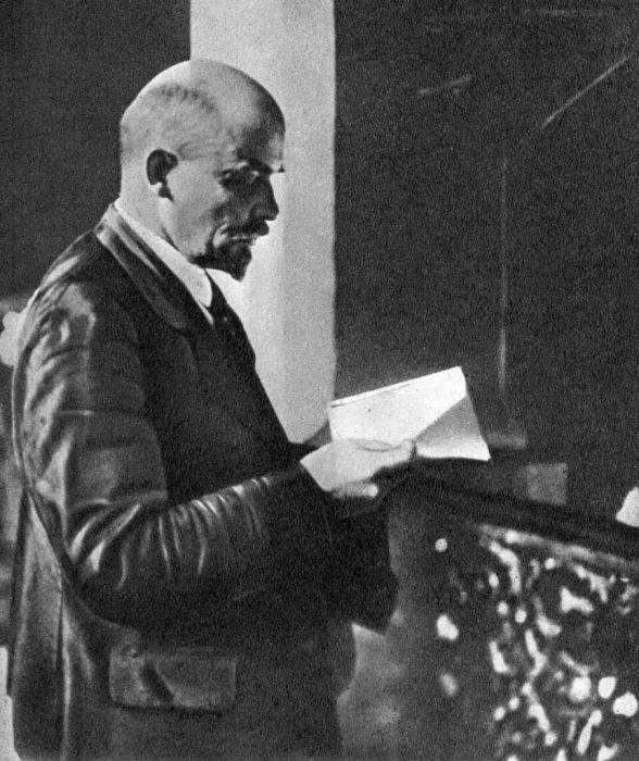 Выступление Ленина на втором конгрессе Коммунистического интернационала.