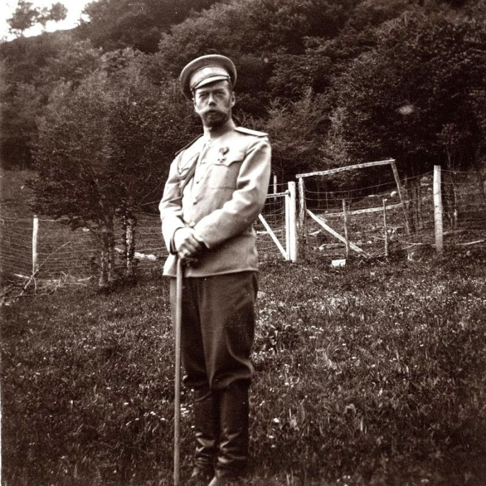 Редкие фотографии Николая II из архива подруги императрицы Анны Вырубовой.