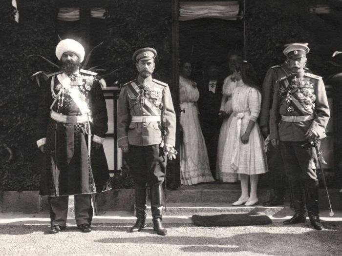 Встреча императора Николая II и эмира Бухарского.