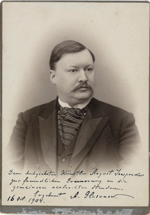 Талантливый русский композитор и всемирно известный дирижёр.