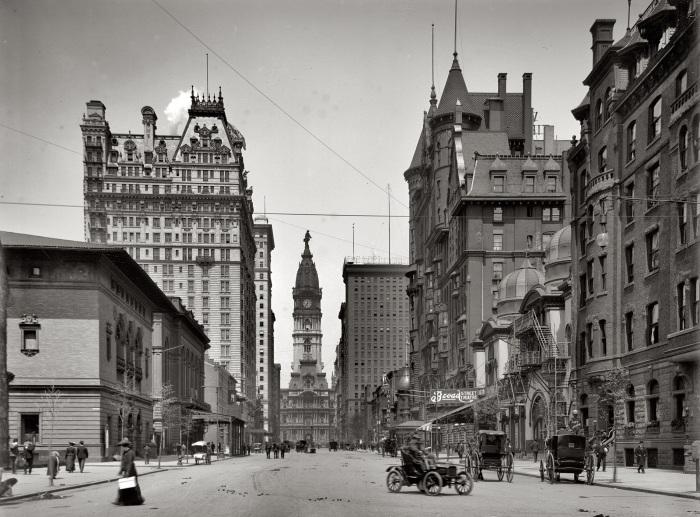 США, Филадельфия, 1905 год.
