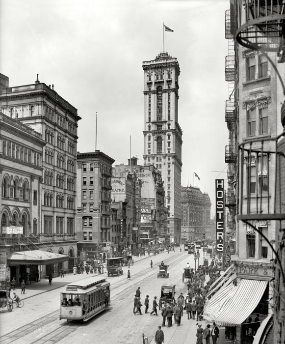 Самая длинная улица в Нью-Йорке.