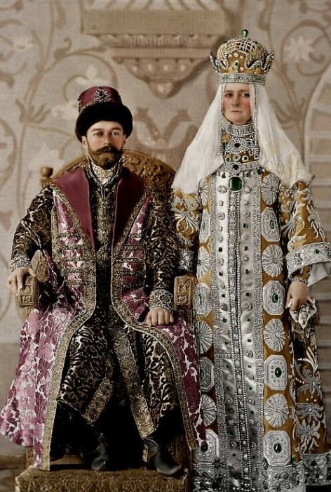 Николай II и Александра Федоровна.