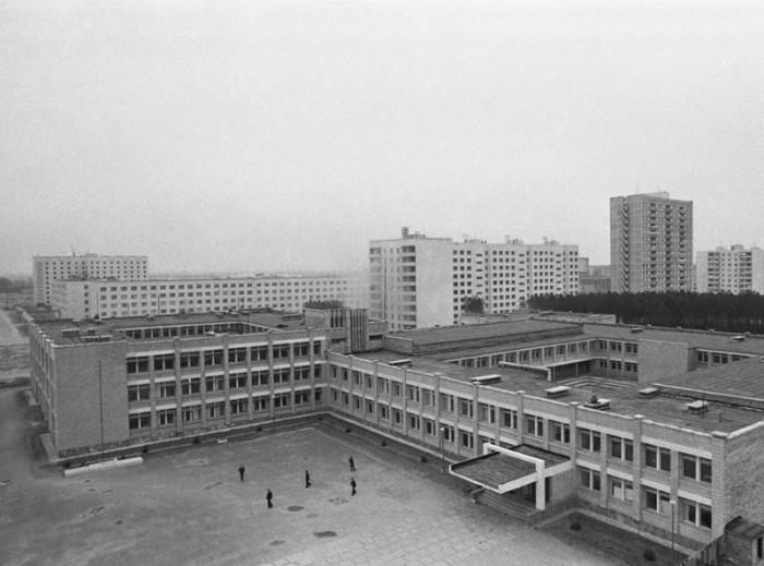 Средняя школа № 3. СССР, Припять, декабрь 1979 год.