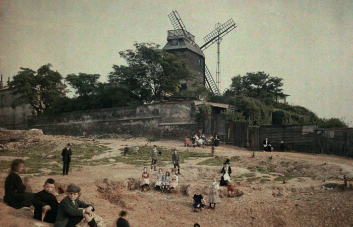 Ветряная мельница «Мулен де ла Галетт».