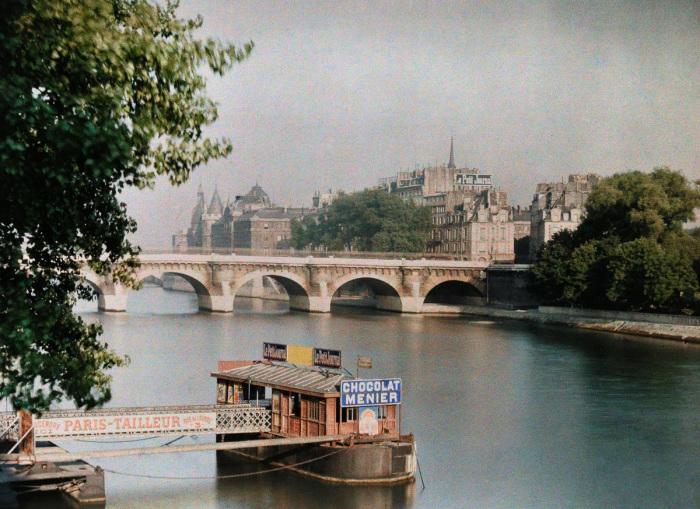 Крупнейшая река северной Франции, которая протекает по всей её территории.