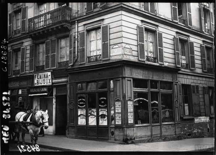 Здание, в котором был арестован серийный убийца Анри Ландрю.  Франция, Париж, 1920 год.