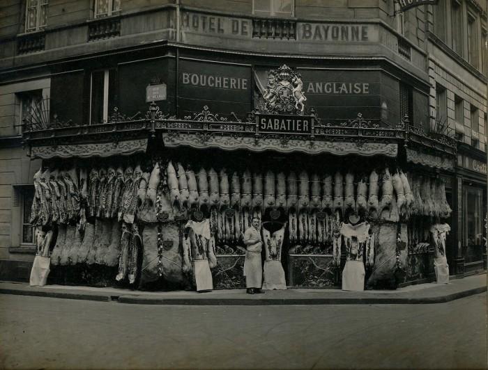 «Пассаж Панорам». Франция, Париж, 1920 год.