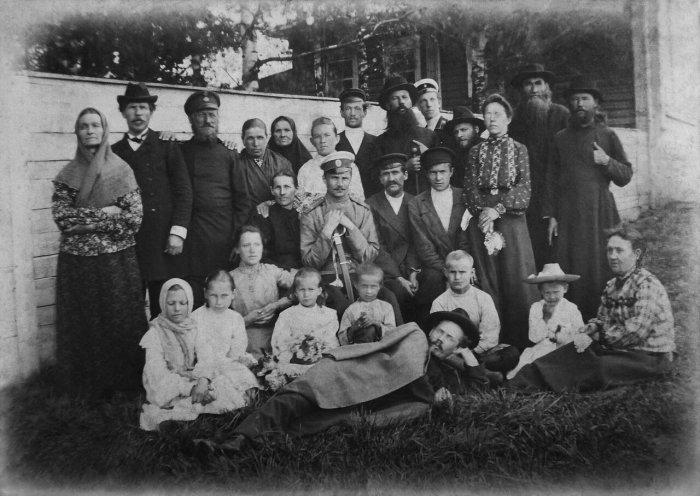 Вятская губерния, Лебяжский район, село Марий Турек, XX век.