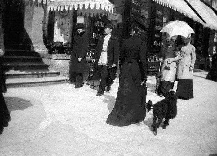 Россия, Санкт-Петербург, Невский проспект, 1899 год.