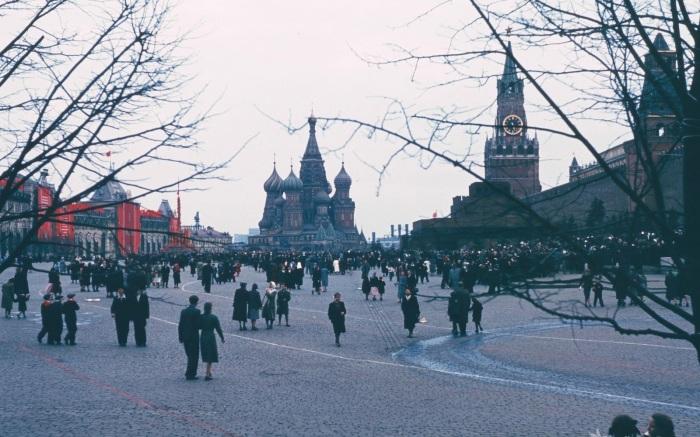 Главная площадь Москвы.