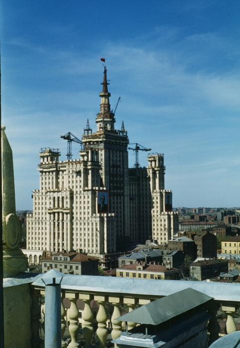 Завершение строительства «сталинской высотки».