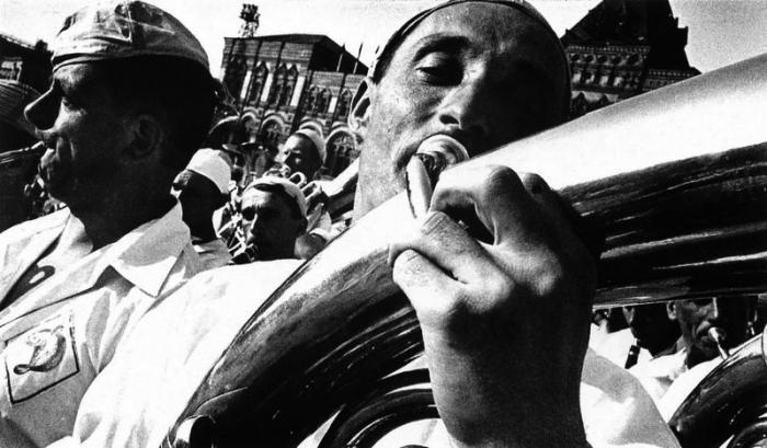 Духовой оркестр, 1930-е.