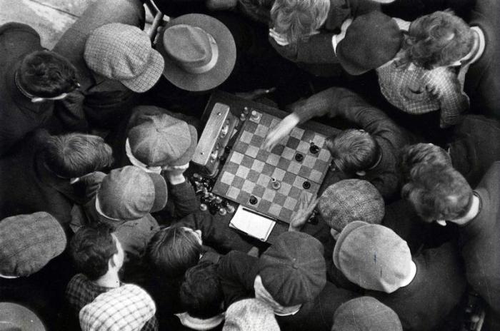 Матч за звание чемпиона района по шахматам, 1949 год.
