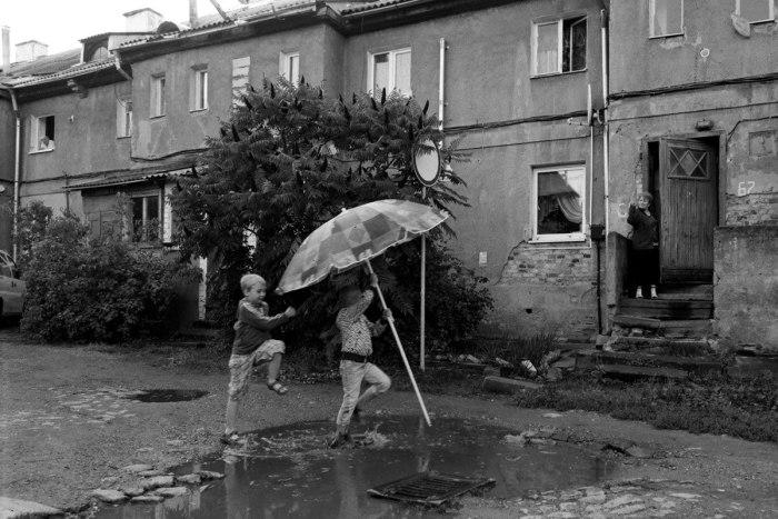 Дождь играм не помеха.
