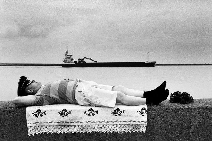 На берегу Балтийского пролива...
