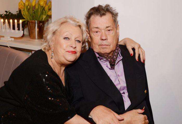 Николай Караченцов с женой Людмилой Поргиной.