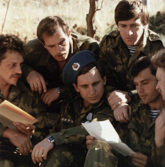 Письма из дома советским солдатам. Автор фотографии: Вячеслав Киселёв.