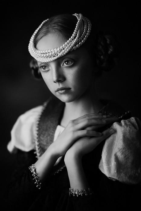 Ещё один портретный снимок Розы Самполиньской.