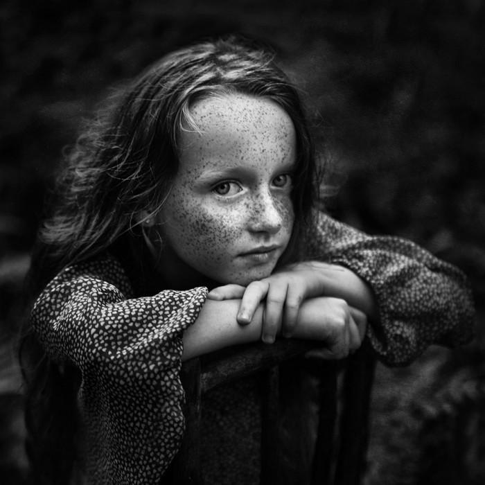 Пятое место на конкурсе детской черно-белой фотографии. Автор фотографии: Камила Целари-Кмечик.