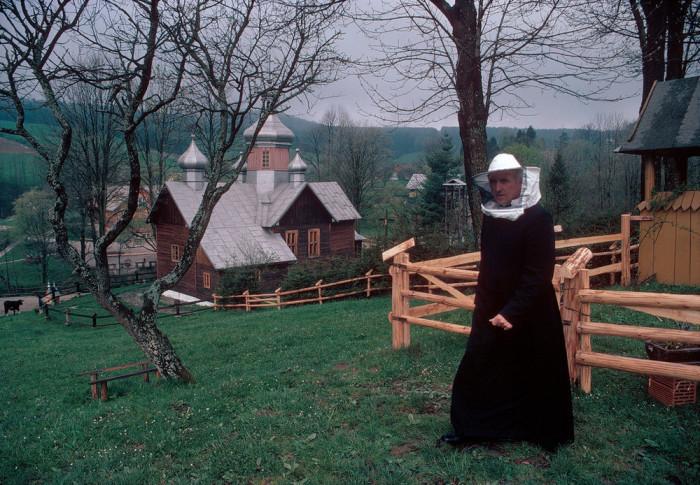 Сельская местность. Польша, 1981 год.