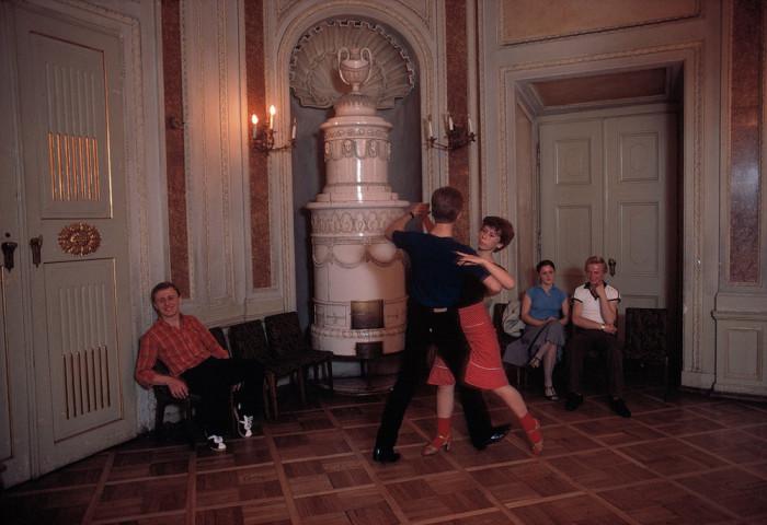 Школа танцев. Польша, Краков, 1981 год.