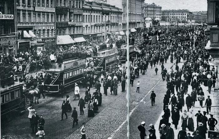 Крестный ход, который был организован «Союзом Русского народа».