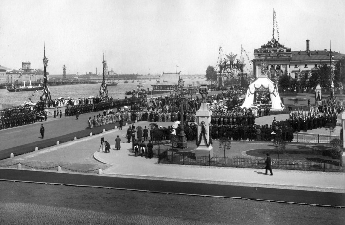 Празднование 200-летия со дня основания Санкт-Петербурга. Россия, 1903 год.