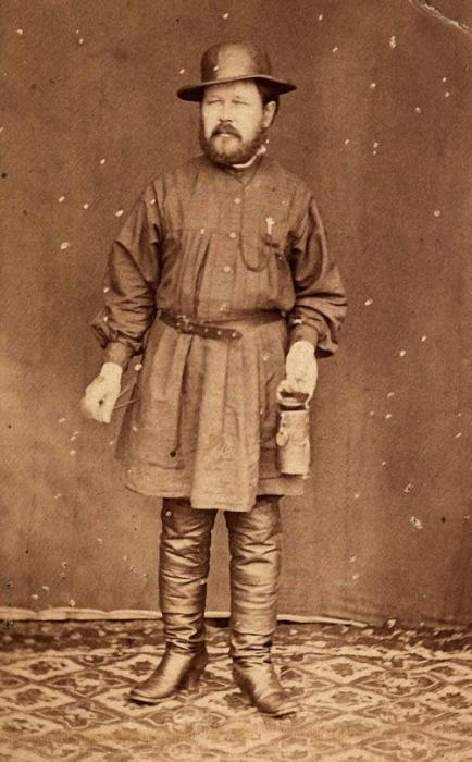 Смотритель прииска в Енисейском округе, 20 июля 1887 года.