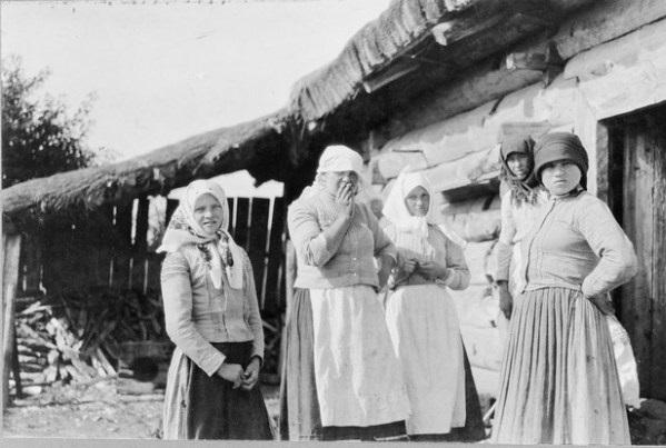 Коренное население российской глубинки. Россия, село Бородино, 1867 год.