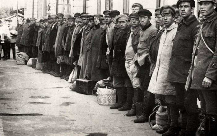 Государственная помощь пострадавшим от голода. СССР, Поволжье, 1922 год.