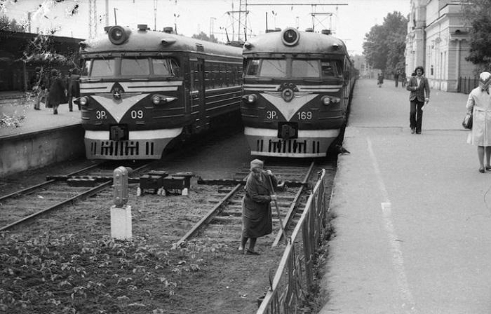 Подборка фотографий, сделанных во времена советской эпохи.