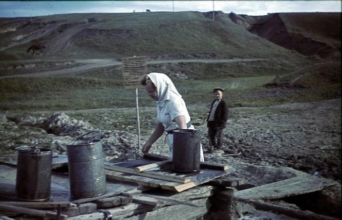 Фотографии, сделанные во время оккупации.