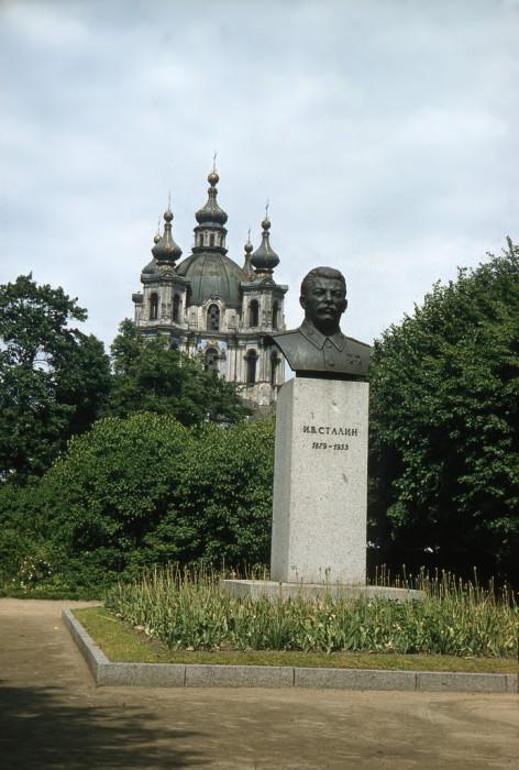 Скульптурное произведение, бюст И. В. Сталина.