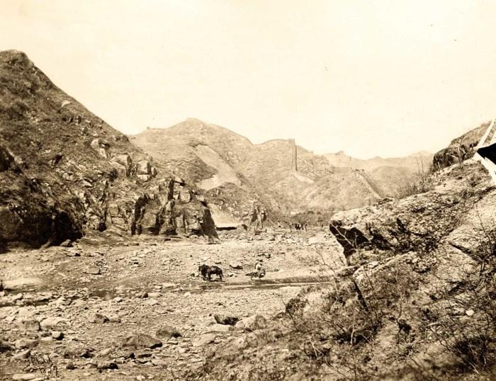 Вид на местность, которую видели путешественники в 19 веке.