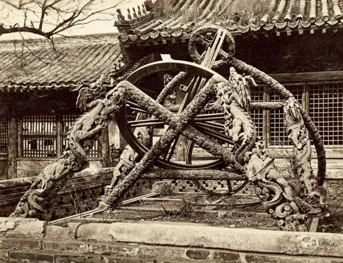 Бронзовый инструмент Императорской астрономической обсерватории.