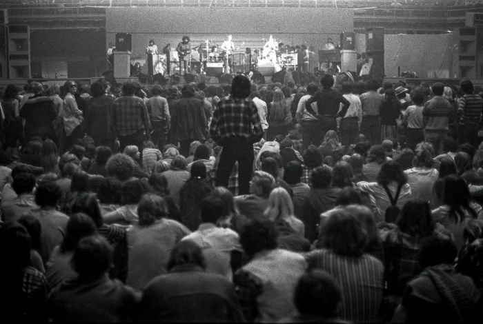 Grateful Dead, 1970 год. Автор фотографии: Маршалл Болин.