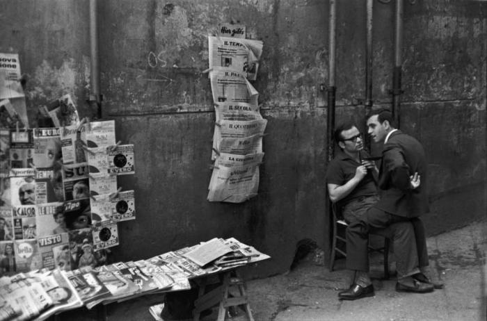 Неаполь. Италия, 1960 год.