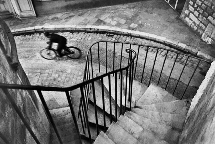 Винтажная лестница. Франция, 1932 год.
