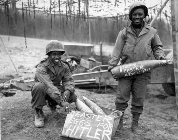 Пасхальные яйца для Гитлера, 1945 год.