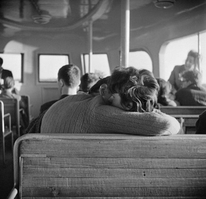 Советская романтика. СССР, Москва, 1956 год