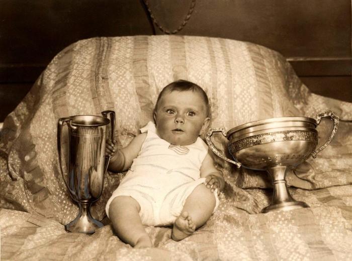 Самый красивый ребенок Америки, 1927 год.