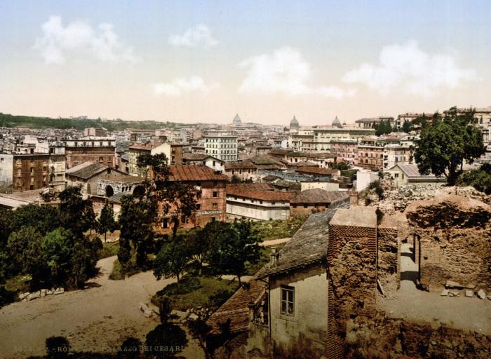 Вид от дворца Цезарей.
