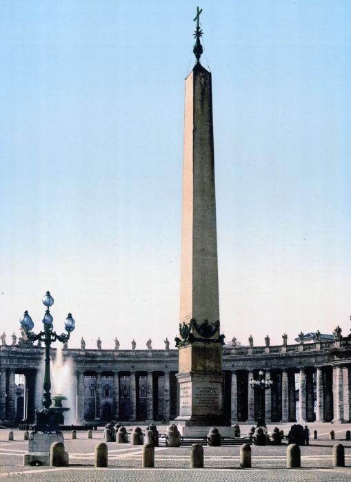 Площадь Святого Петра или пьяцца Сан Пьетро.