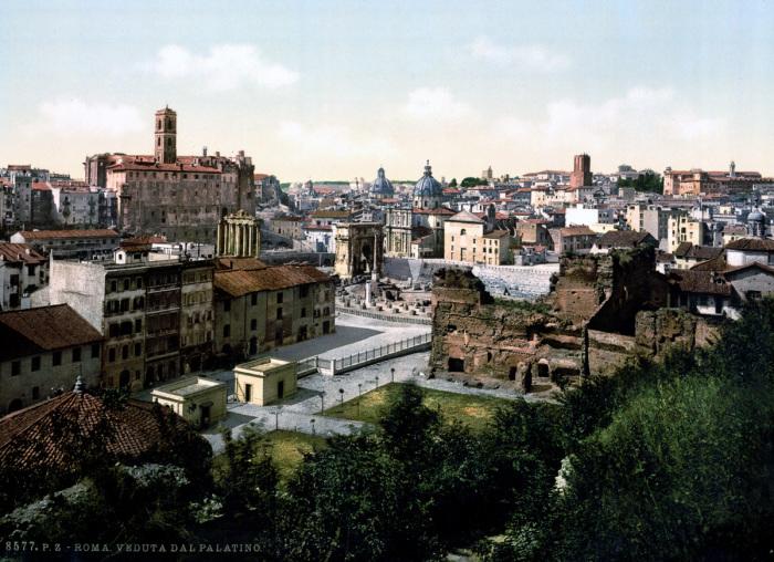Центральный из семи главных холмов Рима.