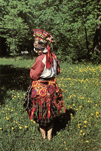 Этнический костюм Тульской губернии.
